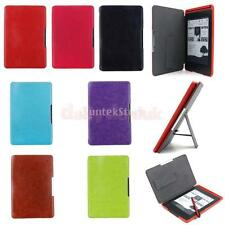 Ultra Slim Magnetic Flip Leather Case Cover Folio for Amazon Kindle Paperwhite