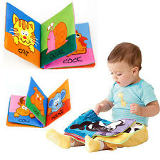 New Intelligence development Cloth Bed Cognize Book Educational Toys Kids Baby