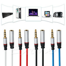 For Headphone 3.5mm Male to Female Stereo Audio Extension Extender Cable Cord