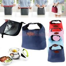 Thermal Travel Picnic Lunch Tote Insulated Cooler Bag Organizer Waterproof New