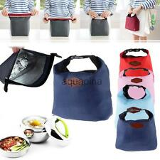 Thermal Insulated Cooler Waterproof Lunch Tote Carry Storage Food Pouch Bag