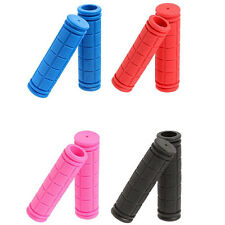1 Pair BMX MTB Bike Mountain Bicycle Handle Handlebar Soft Bar Rubber End Grips