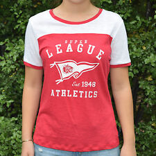 Sportsgirl Red and White T-Shirt