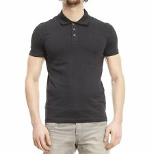 Armani Polo Shirt Mens Fit New Slim Muscle Signature Nwt Cotton Logo S Short