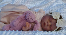 """20"""" UNPAINTED REBORN DOLL KIT, WITH OR WITHOUT DOE SUEDE BODY- """"CHARLOTTE"""""""