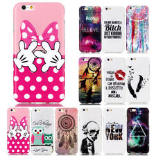 Fashion Slim Soft TPU Silicone Rubber Back Cover Skin Case For iPhone 6S Plus