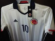New Men's JAMES RODRIGUEZ Home 2016 National COLOMBIA Jersey #10 Soccer Futbol