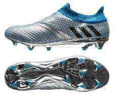 adidas Messi 16+ Pureagility FG Men's Soccer Cleats Football Shoes Sil/Blue 1606