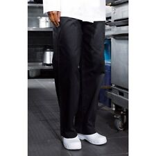 Premier Chefs Catering Trousers - Black/ OR Check Extra Small to XXL