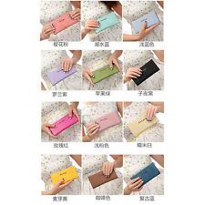 High Quality Wallet Women Lady Long Purse Bag Clutch Card Holder Bag 12 Colors