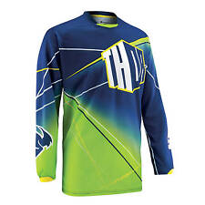Thor Mx Gear NEW Phase Dirt Bike BMX MTB Prism Navy Adult Motocross Jersey