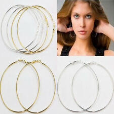 New 20Pcs Jewelry Round Basketball Wives Hoop Earring 20/30/40/50/60/70/80/90MM
