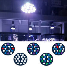Full Spectrum 18W LED Aquarium Light for Reef Corals, Freshwater and Refugiums