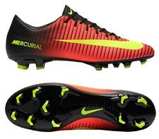 Nike Mercurial Victory VI FG Men's Soccer Cleats Football Shoes Crimson/Blk 1606