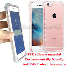 """For iPhone 6s/6 4.7"""" Silicone TPU Gel Crystal Clear Soft Case Cover Skin Bumper"""