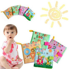 Kid Baby Infant Intelligence development Cloth Bed Cognize Book Educational Toy