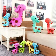 1pc Cute Giraffe Soft Plush Toy Animal Deer Doll Baby Kid Children Party Gift S2