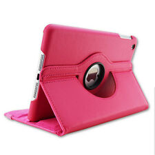 For iPad 6/Air 2 Retina 360 Rotating Flip Leather Case Smart Cover Swivel Stand