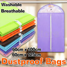 Garment Storage Suit Bag Dress Cover Clothes Protector Coat Jacket Dustproof Bag