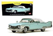 SUNSTAR 1:18 PLATINUM COLLECTION 1960 PLYMOUTH FURY CLOSED CONVERTIBLE SS5411