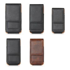 Retro Leather Belt Holster Pouch Pocket Bag Case + Buckle For iPhone 6 6S Plus