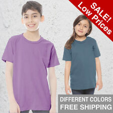 Youth Organic T hirt Short Sleeve eco friendly Tee  kids clothes SM, MD, LG