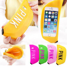 Creative 3D Cute Lovely Banana Soft Silicone Cover Case Skin F Iphone 5S SE 6s /