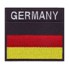 GERMANY BADGE FLAG EMBROIDERED  PATCH
