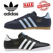 adidas Originals Bamba Mens Casual Retro Gents Trainers Shoes Sizes 7-12 UK Sale