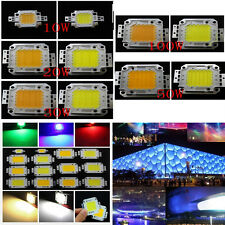 10W 20W 30W 50W 100W LED Chips Bead High Power SMD Lamp White For Floodlight Hot