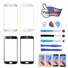 For Samsung Galaxy S6 Front Screen Glass Lens Replacement+Tools Fits ATT/Tmobile