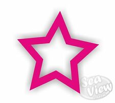 30 Hollow Star Car Bedroom Window Wall Laptop Stickers