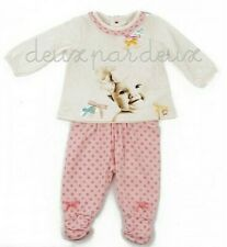 NWT Deux par Deux Album de Famille Top and Pants girl baby Set 12M 24M
