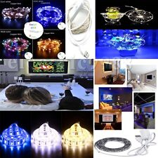 HOT USB Operated LED TV Background Lighting+Copper/Silver LED Strip Fairy Light