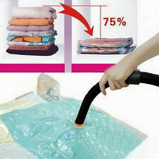 Portable Space Saver Saving Storage Bags Vacuum Seal Compressed Organizer Bag