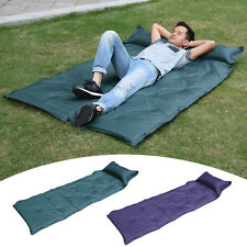 Self-Inflating Mattress Inflatable Camping Air Mat Bed Pillow Sleeping Pad Tent