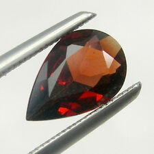 Pear Cut Calibrated Size Red Colour Untreated Natural Garnet Loose Gemstone