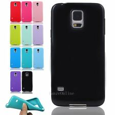 For Samsung Galaxy S5 I9600 Ultra Slim Soft TPU Silicone Gel Skin Case Cover