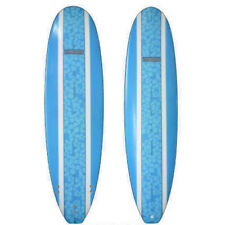 Surfboard Fibreglass Mini Mal Surfboard SUNRIDE floral inlay