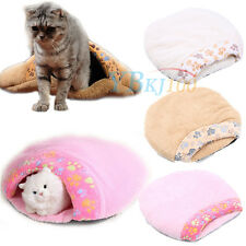 Pets Washable Soft Comfy House Dog Puppy Bed Mat Kennel Cat Cushion Sleeping Bag