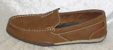Sonoma Mens Shoes loafers slip-on brown tan solid man made size 8 NEW