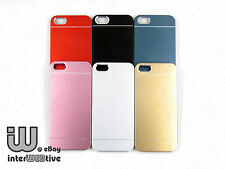 Metallic / TPU Hybrid Dust Proof Hard Cover Case For Apple iPhone 5 5S Free Ship