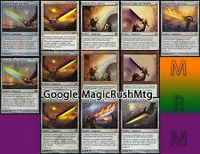 Sword of Body Feast Fire Light War Multi Epée Schwert Spada Espada MTG Magic