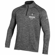 Under Armour Chicago White Sox Charcoal Tech Quarter-Zip Performance Pullover