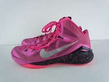 Mens Nike Pink Basketball High Top Fashion Sneakers Size 13