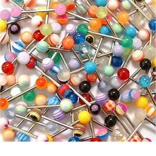Pack of 25 Tongue Bars or Belly Bars, Wholesale Body Jewellery