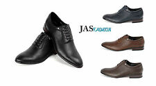 Mens Oxford Formal Fashion Shoes Italian Leather Look Wedding Style Size UK 6-11
