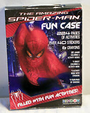 The Amazing Spider-Man Fun Case With Activities, Stickers & Crayons