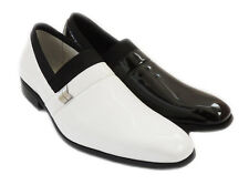 NEW COMFORT MENS PATENT CLASSIC DRESS SHOES LOAFERS SLIP ON LEATHER LINED FORMAL