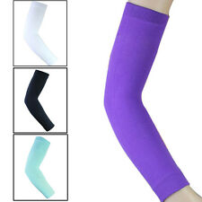 Outdoor Sports Elastic Compression Long Arm Elbow Sleeve Brace Support Pain Band